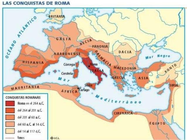Resultado de imagen de CONQUISTAS ROMA
