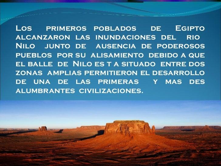 Civilizaciones      del   agua  de  egipto 6 a eq 6 Slide 2