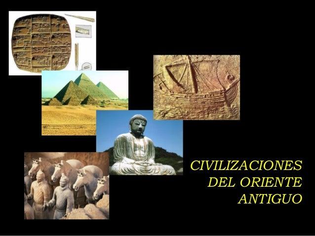 CIVILIZACIONES DEL ORIENTE ANTIGUO