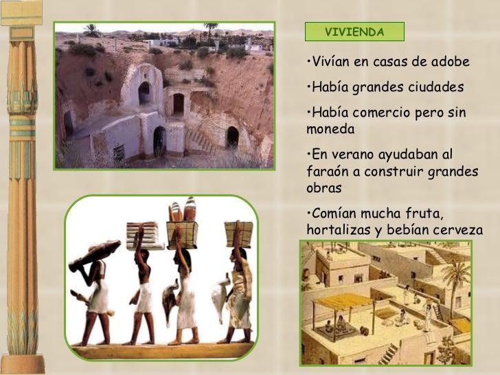 <ul><li>Vivían en casas de adobe </li></ul><ul><li>Había grandes ciudades </li></ul><ul><li>Había comercio pero sin moneda...