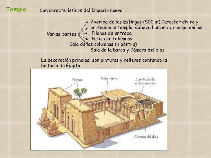 Templo Varias   partes  Avenida de las Esfinges (500 m).Caracter divino y  protegían el templo. Cabeza humana y cuerpo ani...
