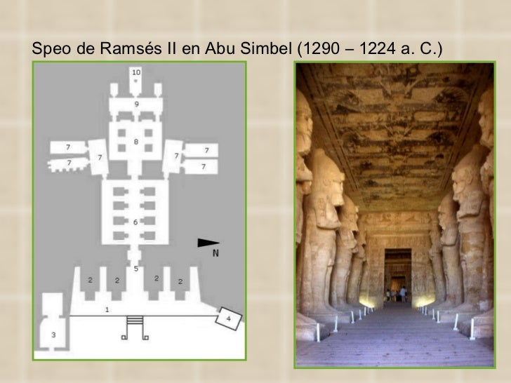 Speo de Ramsés II en Abu Simbel (1290 – 1224 a. C.)