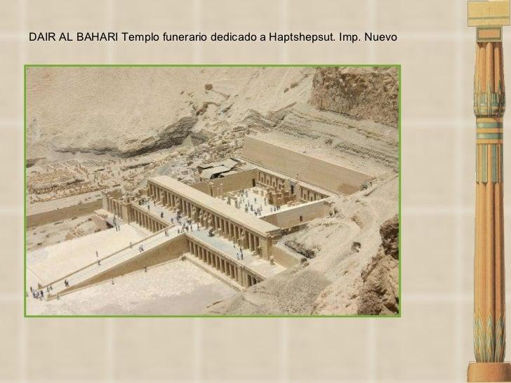 DAIR AL BAHARI Templo funerario dedicado a Haptshepsut. Imp. Nuevo