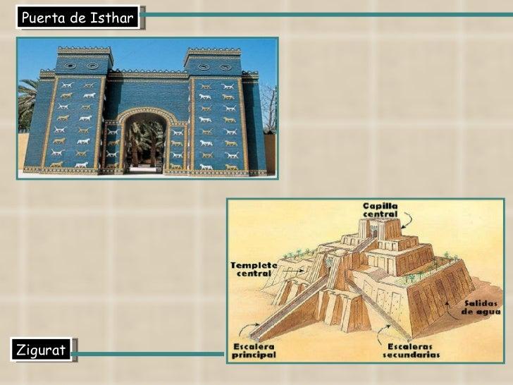 Puerta de Isthar Zigurat