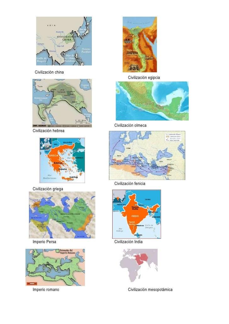 Civilizaciones prístinas y clásicas Slide 3