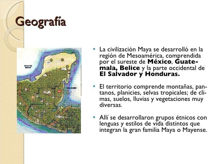 Civilizacion maya for Informacion de la cultura maya