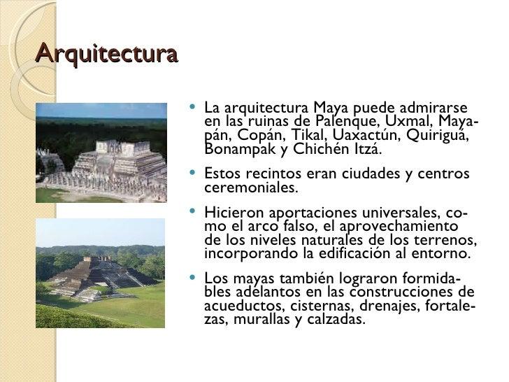 Civilizacion maya for Civilizacion maya arquitectura