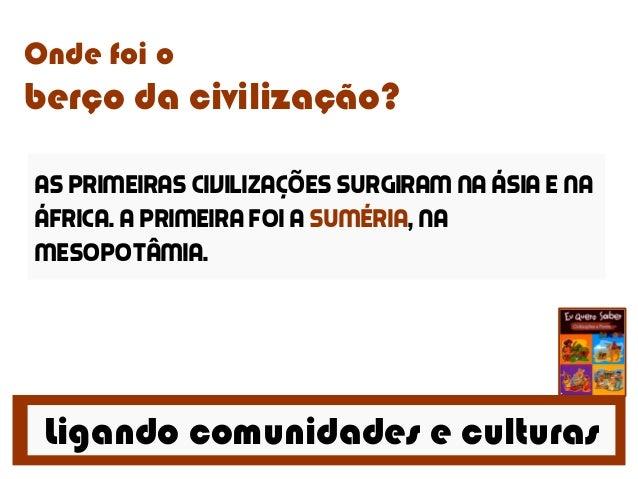 Civilizações e povos Slide 2