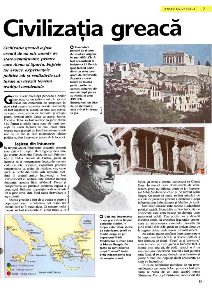 ~    Civilizatia greaca a fost                                                                  O Invadatori              ...
