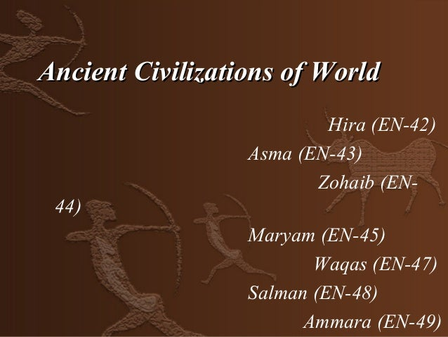 Ancient Civilizations of World                          Hira (EN-42)                  Asma (EN-43)                        ...