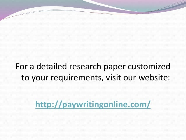 war on terror research paper