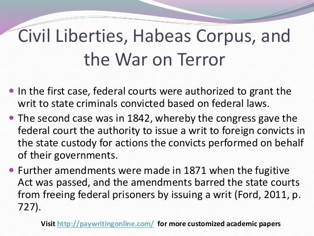 federal governments actions during the civil war essay During the civil war, the nation faced its most serious challenge there were sharply divided loyalties, fluid military and political boundaries, easy opportunities for espionage and sabotage, and more than 600,000 combat fatalities.