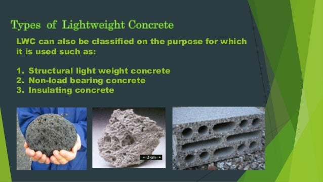 Lightweight Aggregate Concrete : Types of light concrete pictures to pin on pinterest