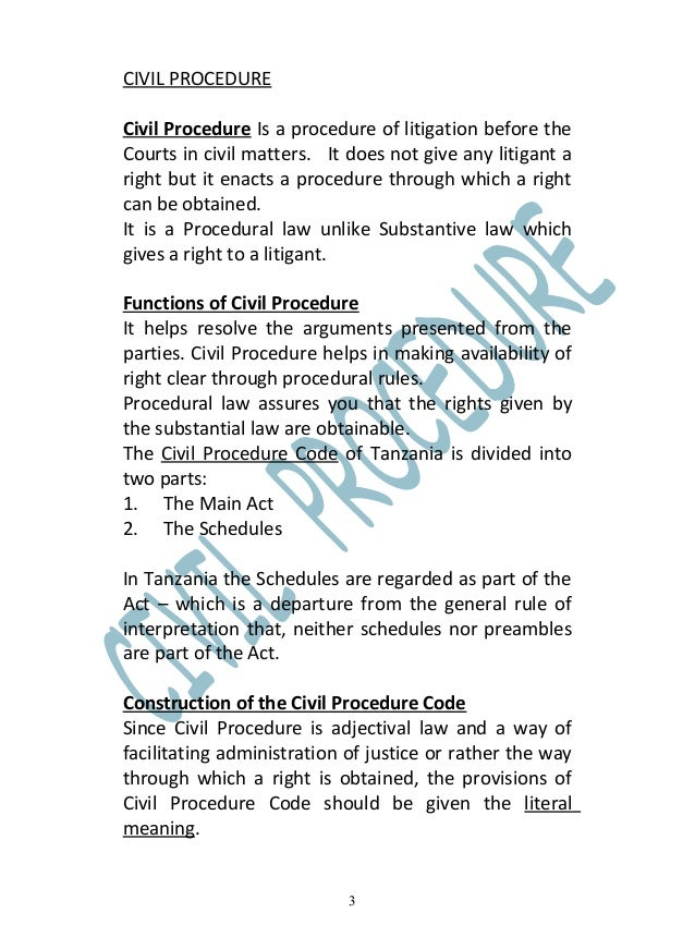 rules of civil procedure code in india pdf