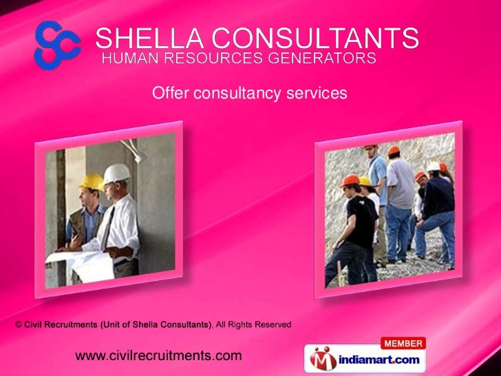 Offer consultancy services<br />