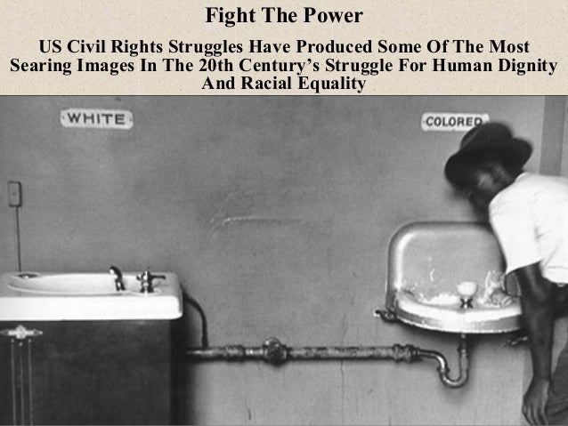 Term paper civil rights movement in the 20th century