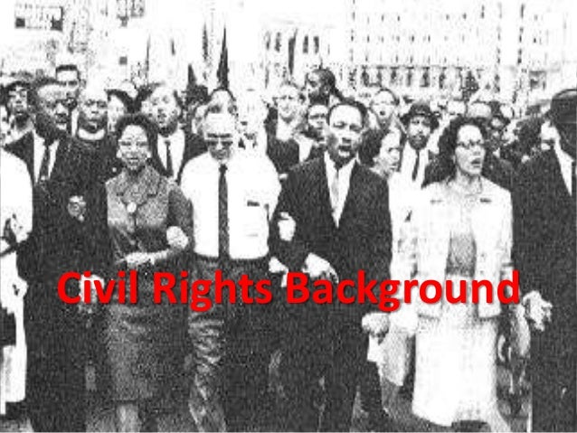 Civil Rights Background
