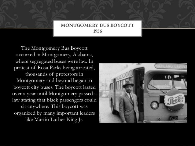 The Montgomery Bus Boycott: Summary & Significance