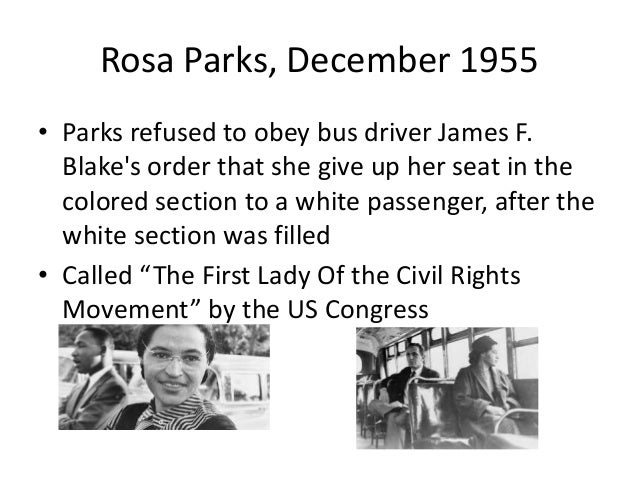 an analysis of the important events from the life of rosa parks Objective: swbat analyze multiple accounts of rosa parks' refusal to give up  her  the key shift here is thinking about multiple perspectives of the same event.