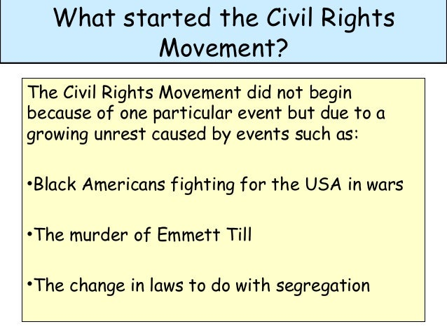 how did the usa civil right Civil war to civil rights - summary report civil war to civil rights commemoration - summary report one hundred-fifty years ago, competing visions for the country and conflicting definitions.