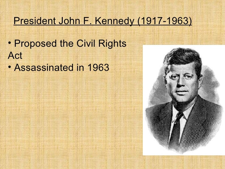 The civil rights bill by john f kennedy