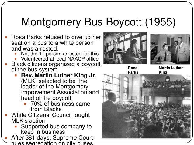 civil rights movement essay outline