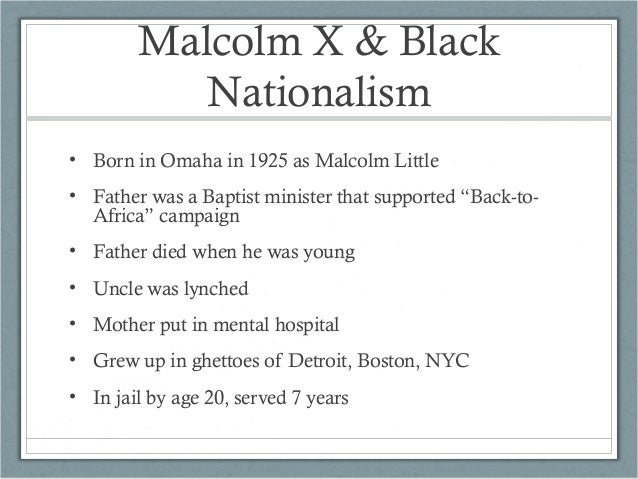 An overview of malcom x islam and civil rights movement