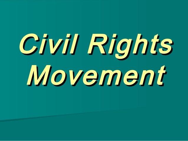 Civil RightsMovement