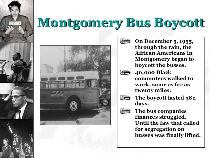 montgomery bus boycott powerpoint