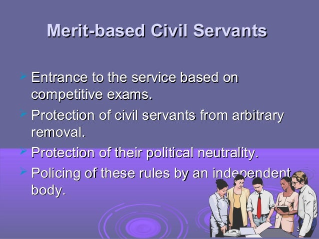 government merit systems The merit system is the process of promoting and hiring government employees  based on their ability to perform a job, rather than on their political connections.