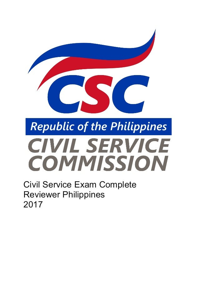 Civil Service Reviewer Book