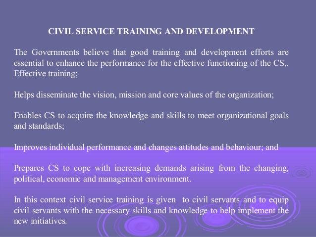 Civil Service In Developed Developing Countries A Comparative Stu