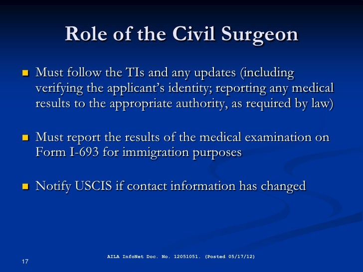 how to become a civil surgeon