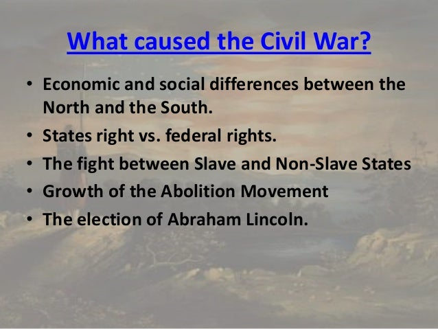 The Civil War - An Introduction