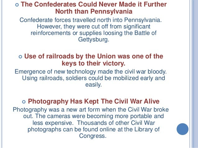 the misleading information about the civil war American civil war, also called war between the states, four-year war (1861–65)  between the united states and 11 southern states that.