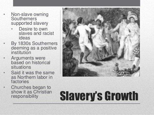 slavery caused racism essay Chicken or egg slavery or racism by glennw on july 16 did the institution of slavery cause racism or did european racism create american slavery.