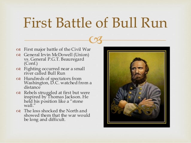 Image result for the first major battle of the civil war