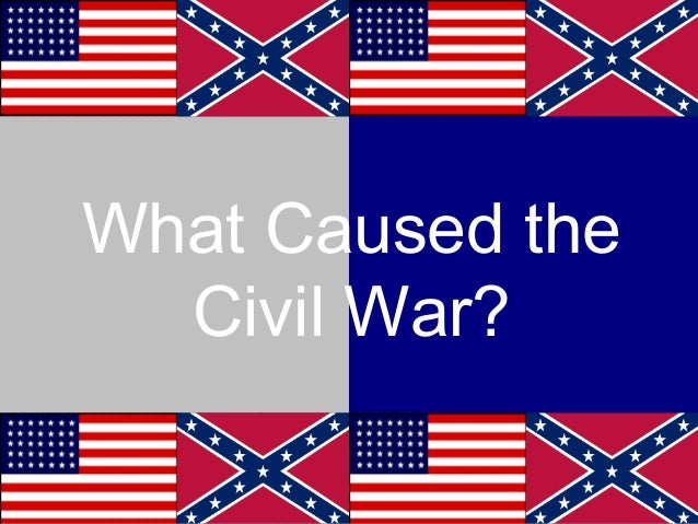 Civil war cause effect