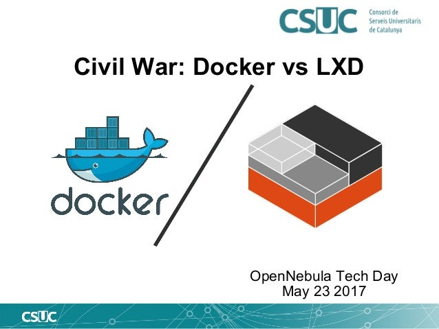 Civil War: LXD vs Docker