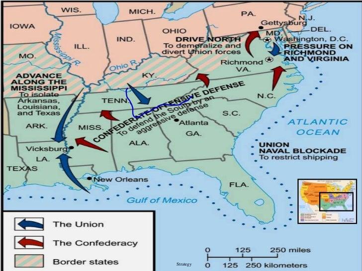 Civil war from 1861 63