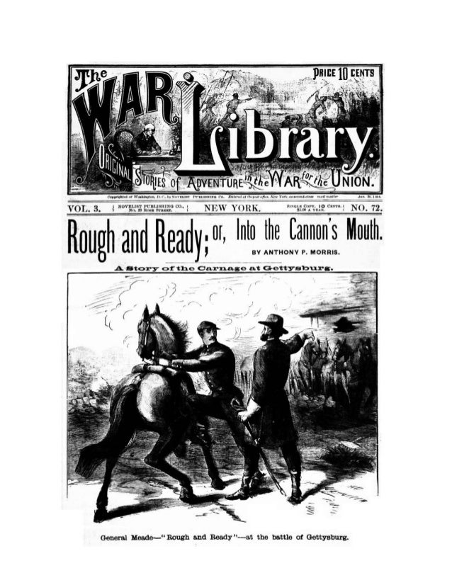 Civil War Library, Rough and Ready -Gettysburg, Free eBook
