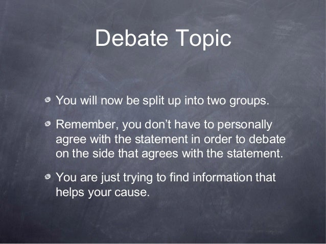 Civil war unit lesson 4 - debate preparation - power point