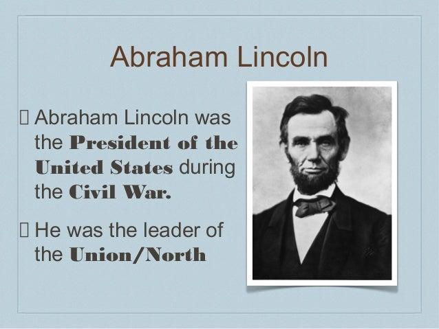 Civil war unit lesson 7 - civil war leaders - power point b ii