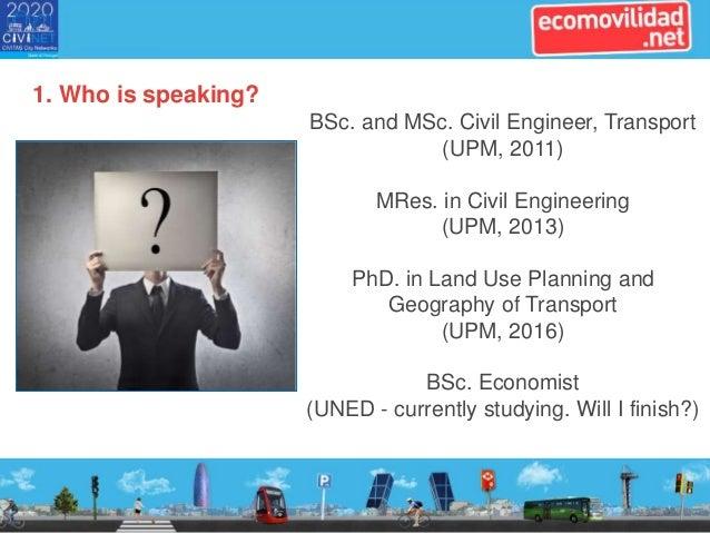 CiViNET@Work event. Slides from ecomovilidad.net Slide 2