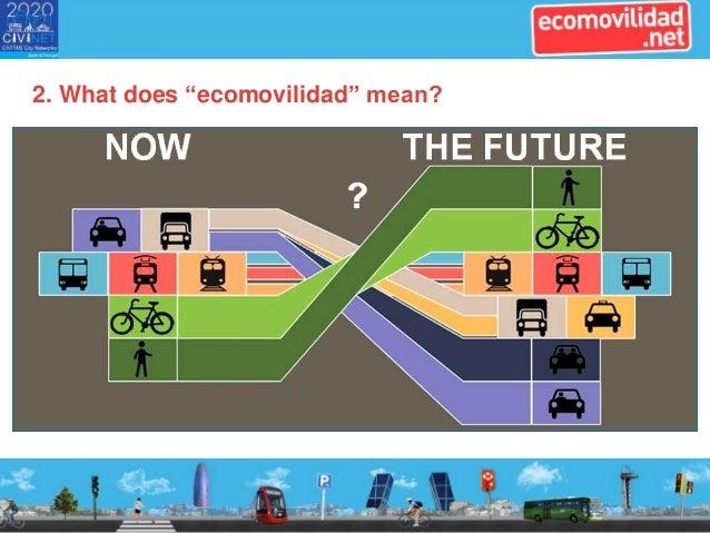 CiViNET@Work event. Slides from ecomovilidad.net Slide 3