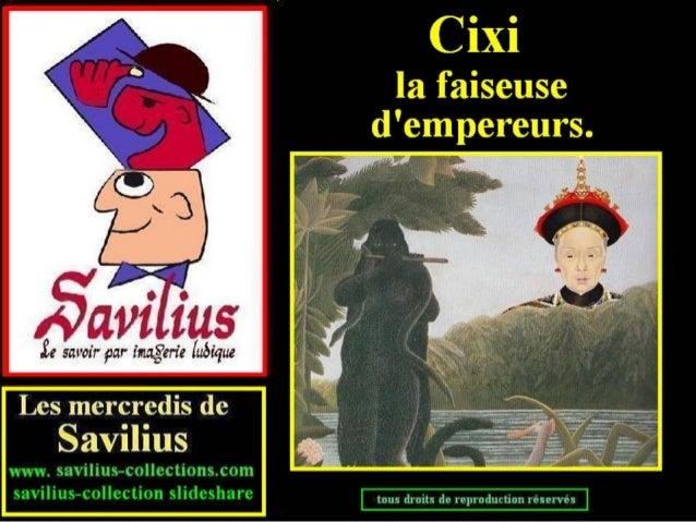 Cixi - faiseuse d'empereurs
