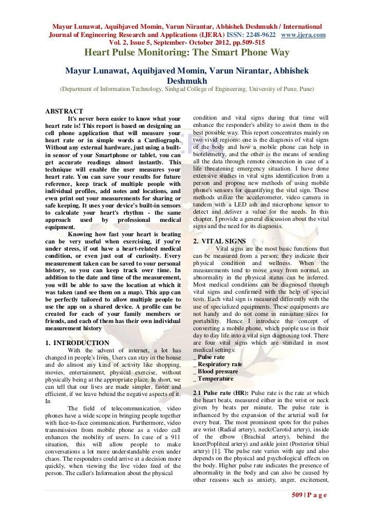 Mayur Lunawat, Aquibjaved Momin, Varun Nirantar, Abhishek Deshmukh / International Journal of Engineering Research and App...
