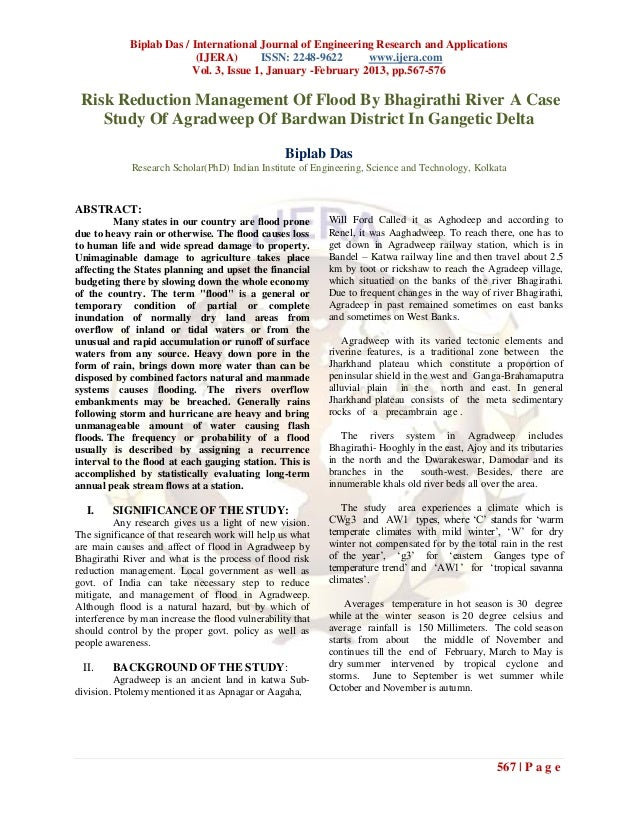 Biplab Das / International Journal of Engineering Research and Applications                           (IJERA)       ISSN: ...