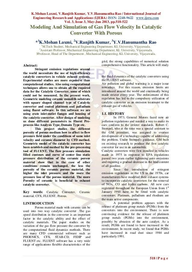 K.Mohan Laxmi, V.Ranjith Kumar, Y.V.Hanumantha Rao / International Journal ofEngineering Research and Applications (IJERA)...