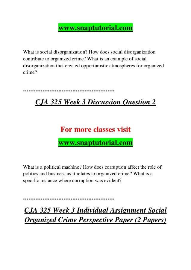 social disorganization theory criticism